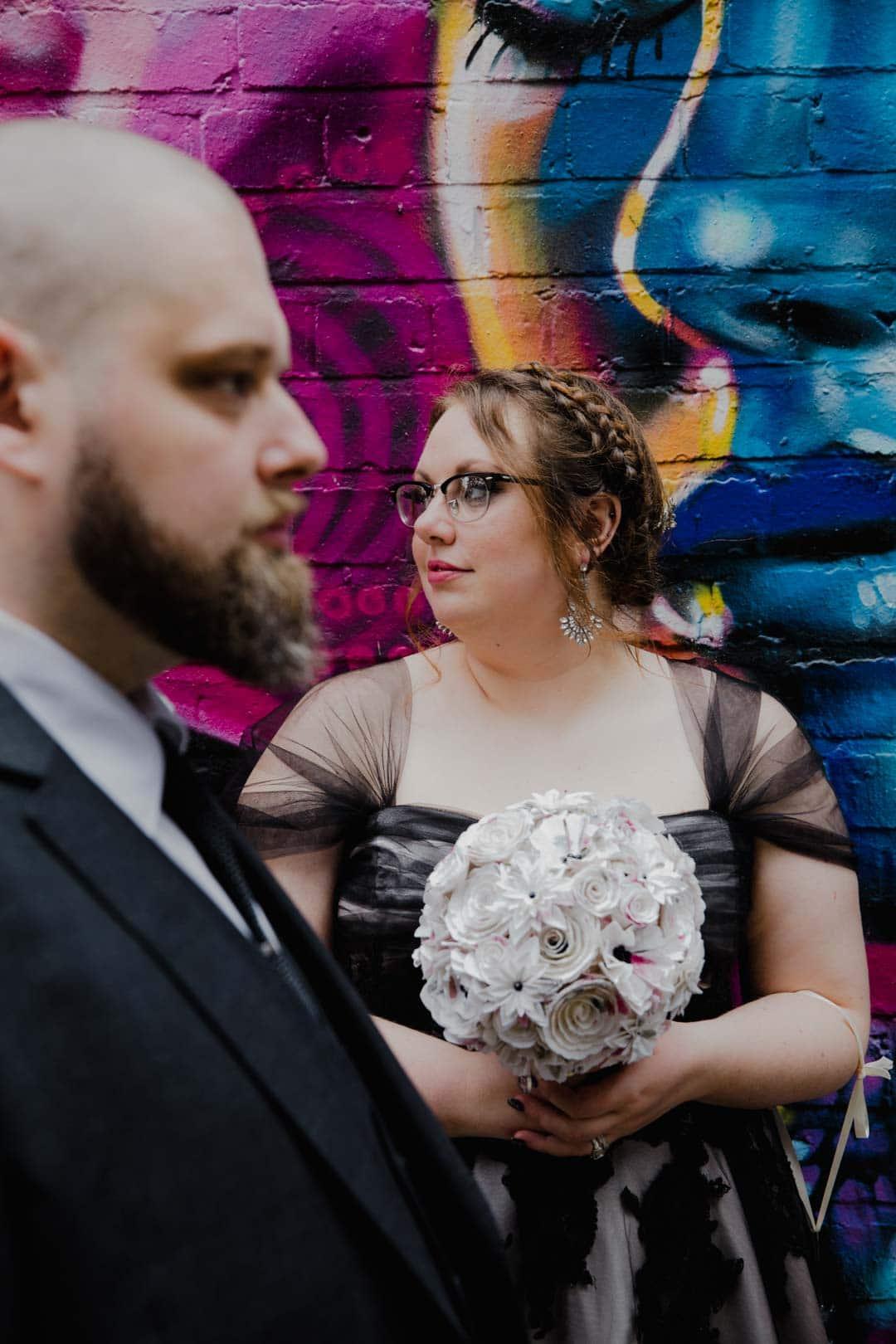 Alternative Wedding Dress S Birmingham : Alternative registry office and cosy club birmingham wedding photos